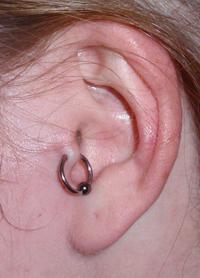 Tragus Piercing
